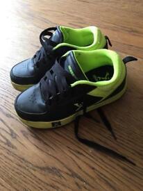Side walk heeley trainers size 1
