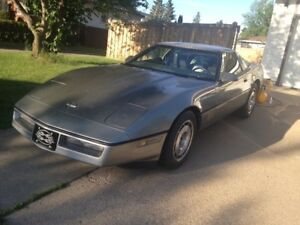 1984 Corvette in very good shape