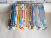 Mixture of young kids DVDS