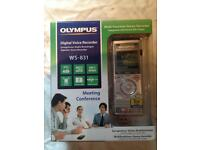 New Olympus WS-831 2GB Voice Recorder