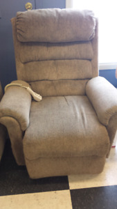 Used medical reclining and lift chair
