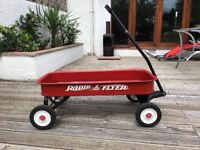 Real Radio flyer wagon trailer kids toy