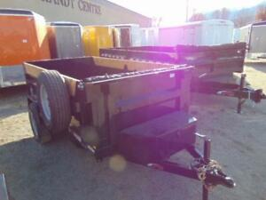 2017 Mirage 5X10 Single Axle (5K) Dump Trailer w. Spare, Tarp, &