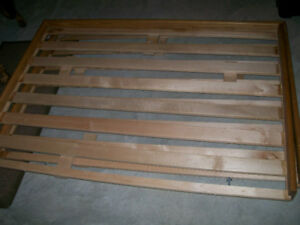 Double Futon with wood frame