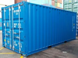 20' x 8' New ISO Shipping Container (Blue)