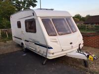 Sterling vitesse 2004 2 birth Full awning winter Storage cover immaculate condition