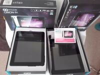 2 X GO CLEVER ORION 97 TABLET(SPARES/REPAIRED)