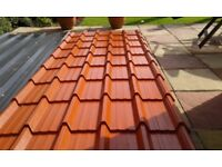 11 x 1 meter by 10 feet steel galvanised roof sheets Brand New