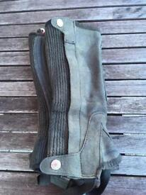 Shires Half Chaps Child's Small