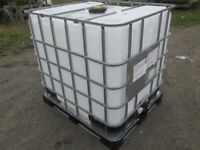 Ibc 1000 litre container. No offers.