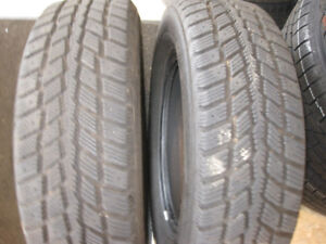 185-70-14 WINTER TIRES - (PAIR OF TIRES) 14 INCH SNOW TIRES