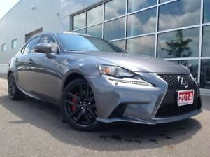 2014 Lexus IS 350 F SPORT !!! BEST DEAL IN TOWN !!!