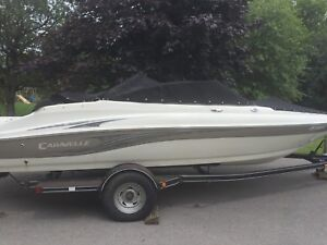 2008 20 ft bow rider  caravelle