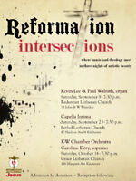 Reformation Intersections - a Three Concert Series