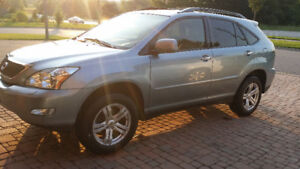 2008 RX 350 SUV. $11500.00 (Blue on Tan leather)