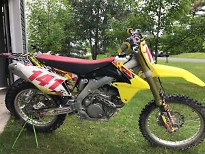 Motocross rmz 450 2013
