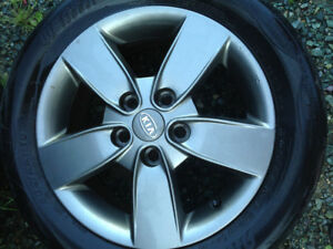 Factory Alloy Rims for sale -excellent condition!