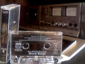 VARIOUS ARTISTS - THE ALL TIME GREATEST MOVIE SONGS VOLUME 2 PRERECORDED CASSETTE TAPE rarely found.