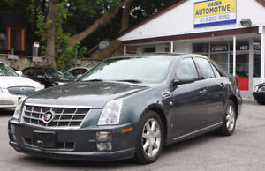 2008 Cadillac STS-V8***NAVI***very low mileage 75,000km