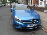 Mercedes Benz A Class. Excellent condition. Low milage. Recent first MOT.