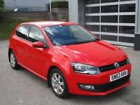 2013 Volkswagen Polo 1.4 Match Edition 5dr Petrol red Manual