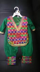 Indian dress size 9 to 12 months