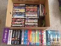 70+ DVDs, films and tv box sets - £40 o.n.o