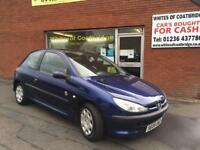 PEUGEOT 206 1.1 8v 2005MY INDEPENDENCE WEE CHEAP RUNAROUND