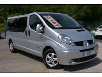 2013 Renault Trafic LL29 LWB Sport Sat Nav DCi 115 BHP 9 Seat Mini Bus 6 door...