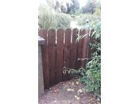 Timber fencing boards 4 ft wanted