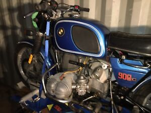 1975 BMW R90/6 motorcycle + side car New Price