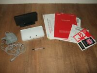 Nintendo 3DS Ice White Handheld System Console with Original Box