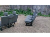 van seats in good condition