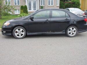 Toyota Corolla XRS 2006 manuelle 6 vitesses