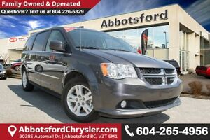 2016 Dodge Grand Caravan Crew Leather Seats & Power Doors & L...