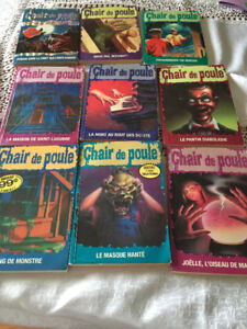 French Goosebumps Books