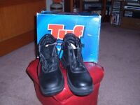 tuf work and safety boots. size 8
