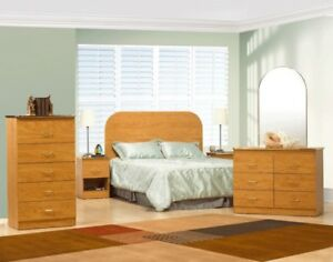 ***6 pcs Brand new bedroom set *****