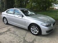 BMW 5 SERIES 3.0 525D SE 4d 202 BHP (silver) 2010
