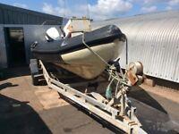 Osprey 6.5m Rib 150 Johnson