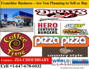 Druxy's, Subway, and other Franchise Business for Sale
