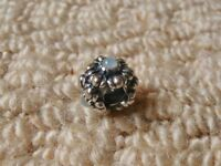 Pandora Barrel Clasp Bracelet Flower Spacer Charm