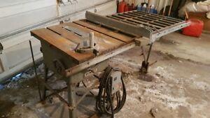 VERY sturdy table saw