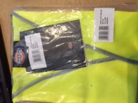 Dickies High Vis Vest Medium