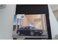 BMW owners hand book