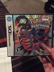 Pokemon platinum and Pokemon pearl