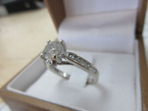 **FOR YOUR GIRL** 14k Ladies Engagement Ring 1.22ct Diamonds