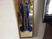evening dress royal blue brand new with tags