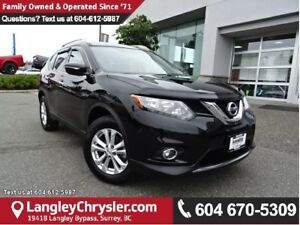 2015 Nissan Rogue SV w/PANORAMIC SUNROOF & SAFETY REAR CAMERA
