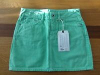 Brand new Jack Wills size 8 spring green mini skirt! Bargain at £15 (cost nearly £40 new!)